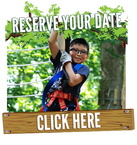 Reserve Your Outing at TreeHoppers Aerial Adventure Park
