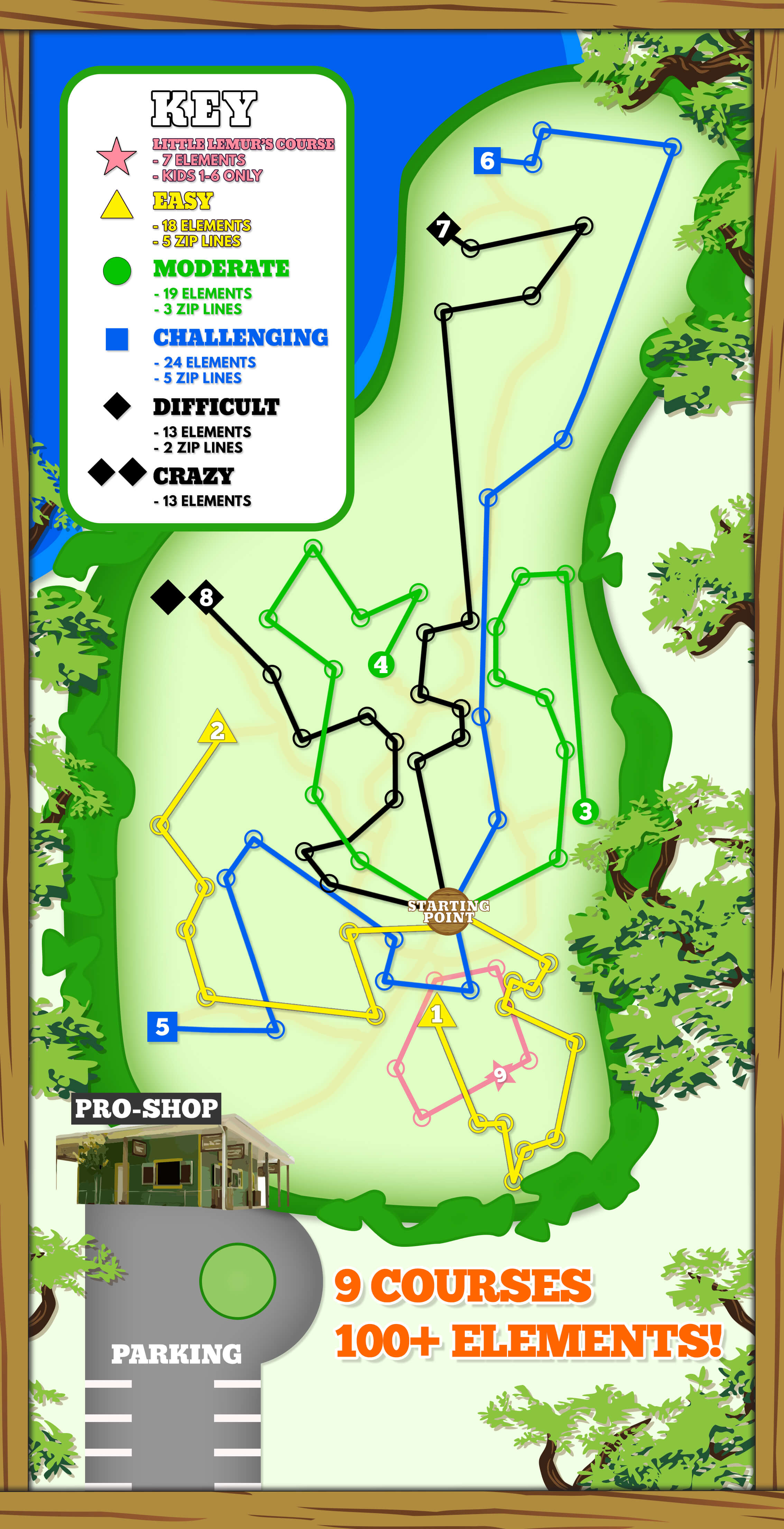 Treehoppers Aerial Adventure Park - Hours & Pricing