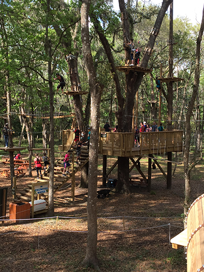 Course Info - TreeHoppers Aerial Adventure Park