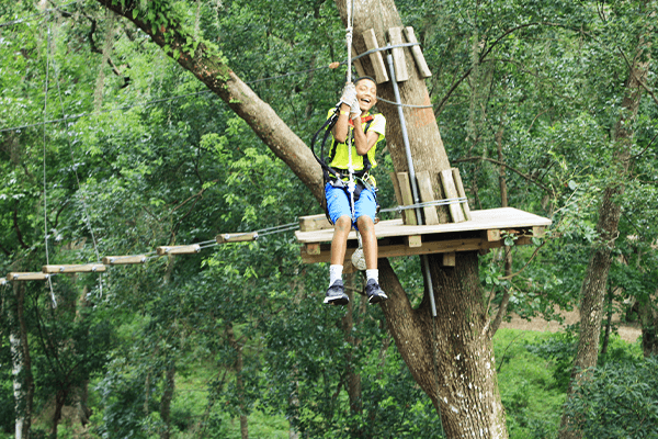 Zip Line Down - TreeHoppers - Dade City, FL