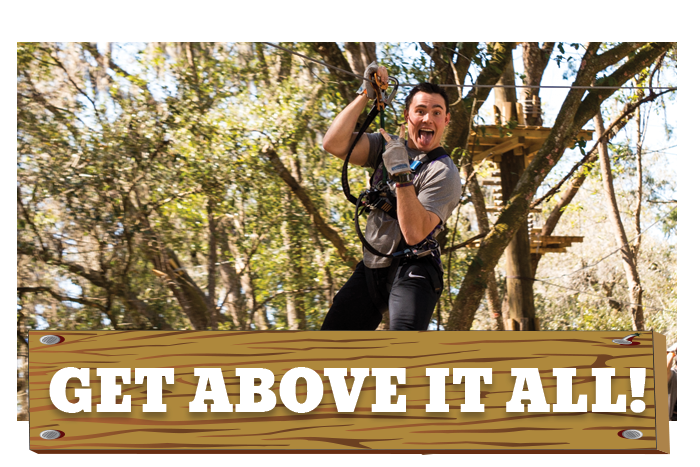 White River Ziplines - Get Above It All