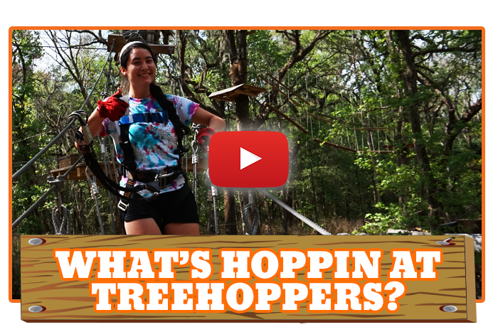 White River Ziplines - What's Hoppin At TreeHoppers