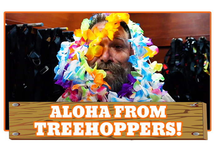 White River Ziplines - Aloha from TreeHoppers