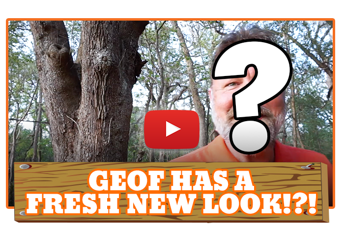 White River Ziplines - Geof Has A Fresh New Look!