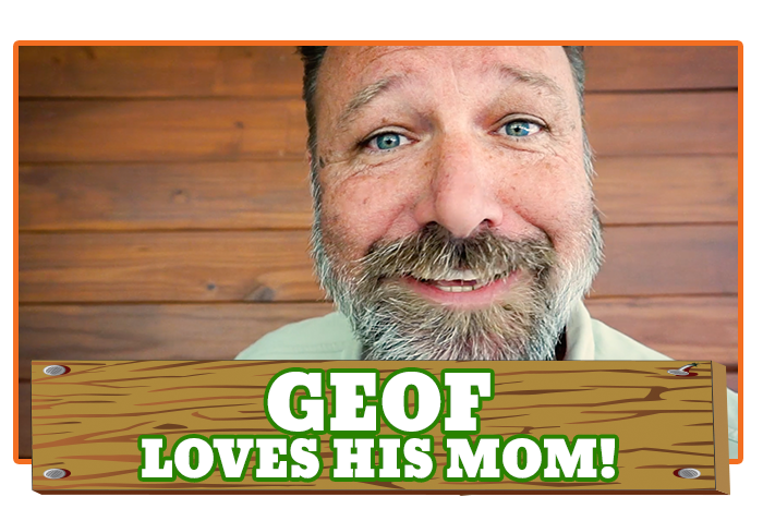 White River Ziplines - TreeHoppers Adventure Update - Geof Loves His Mom!