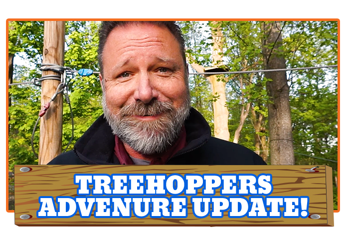White River Ziplines - TreeHoppers Adventure Update!