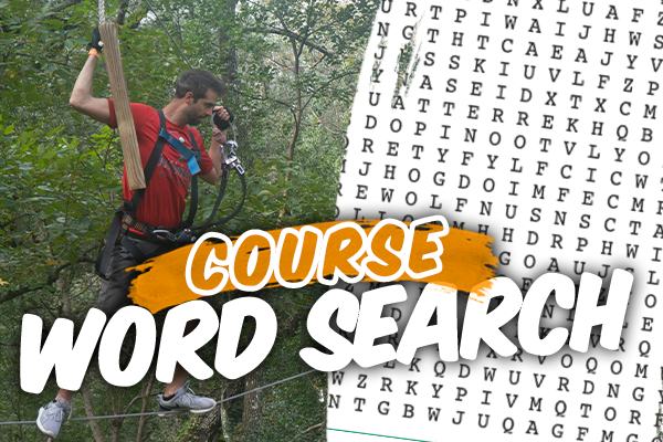 White River Ziplines - Course Word Search