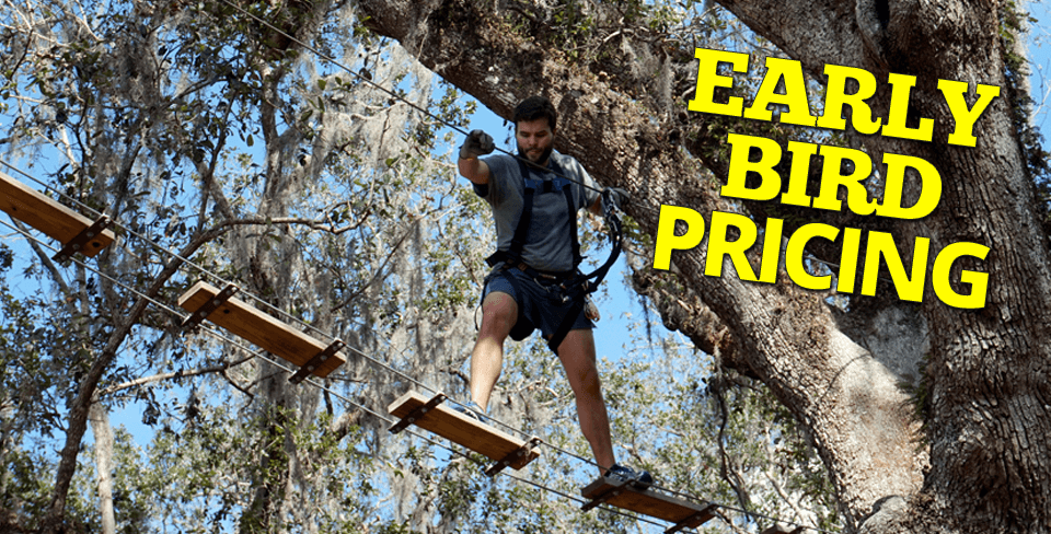 Treehoppers Zip Line Ropes Course Tampa Bay Florida